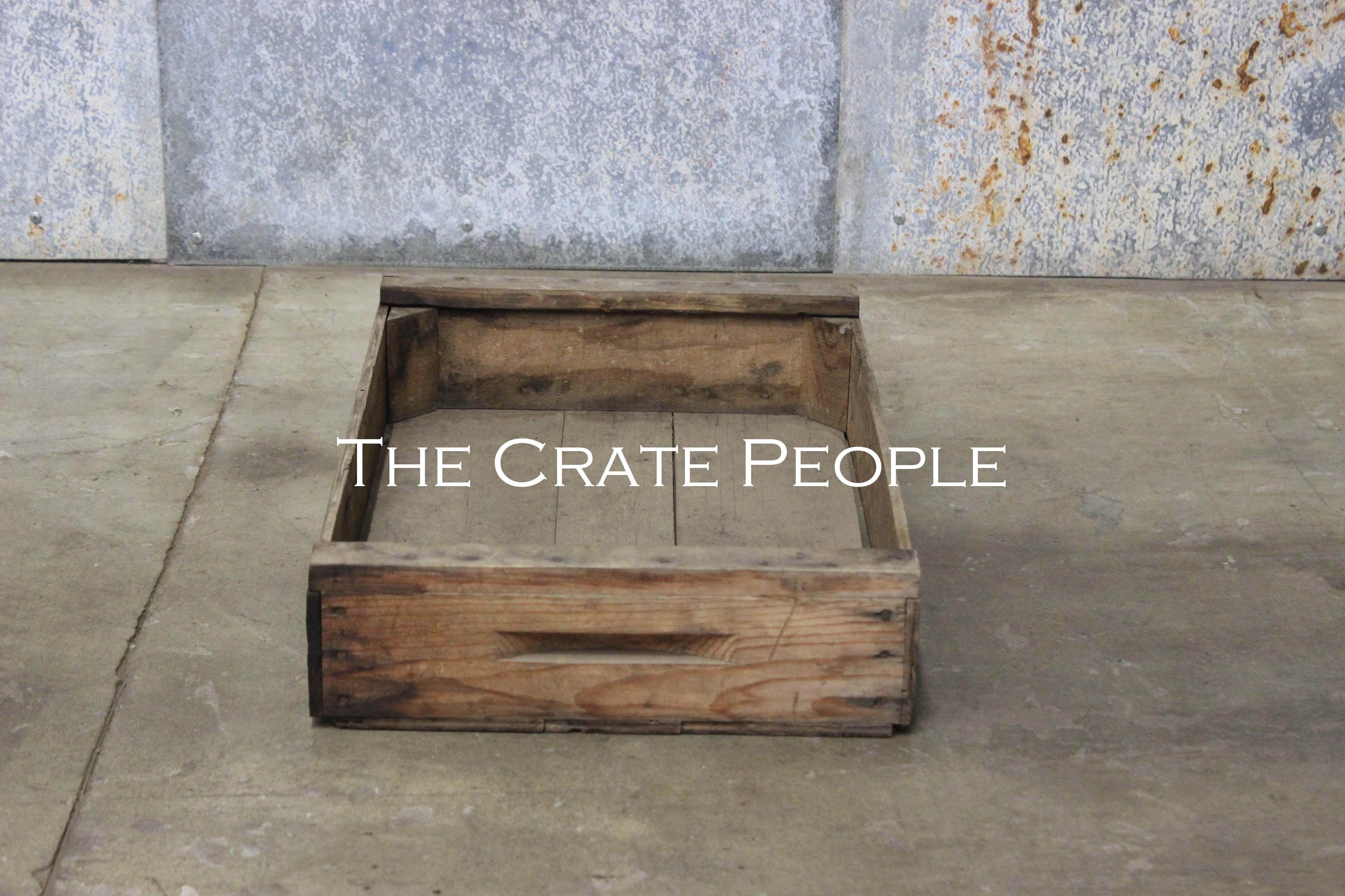 Vintage BABY Crate
