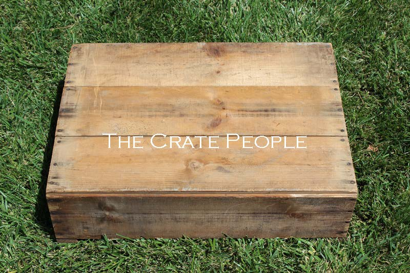 Vintage CONSTANCE Or CROSSLAND Crate