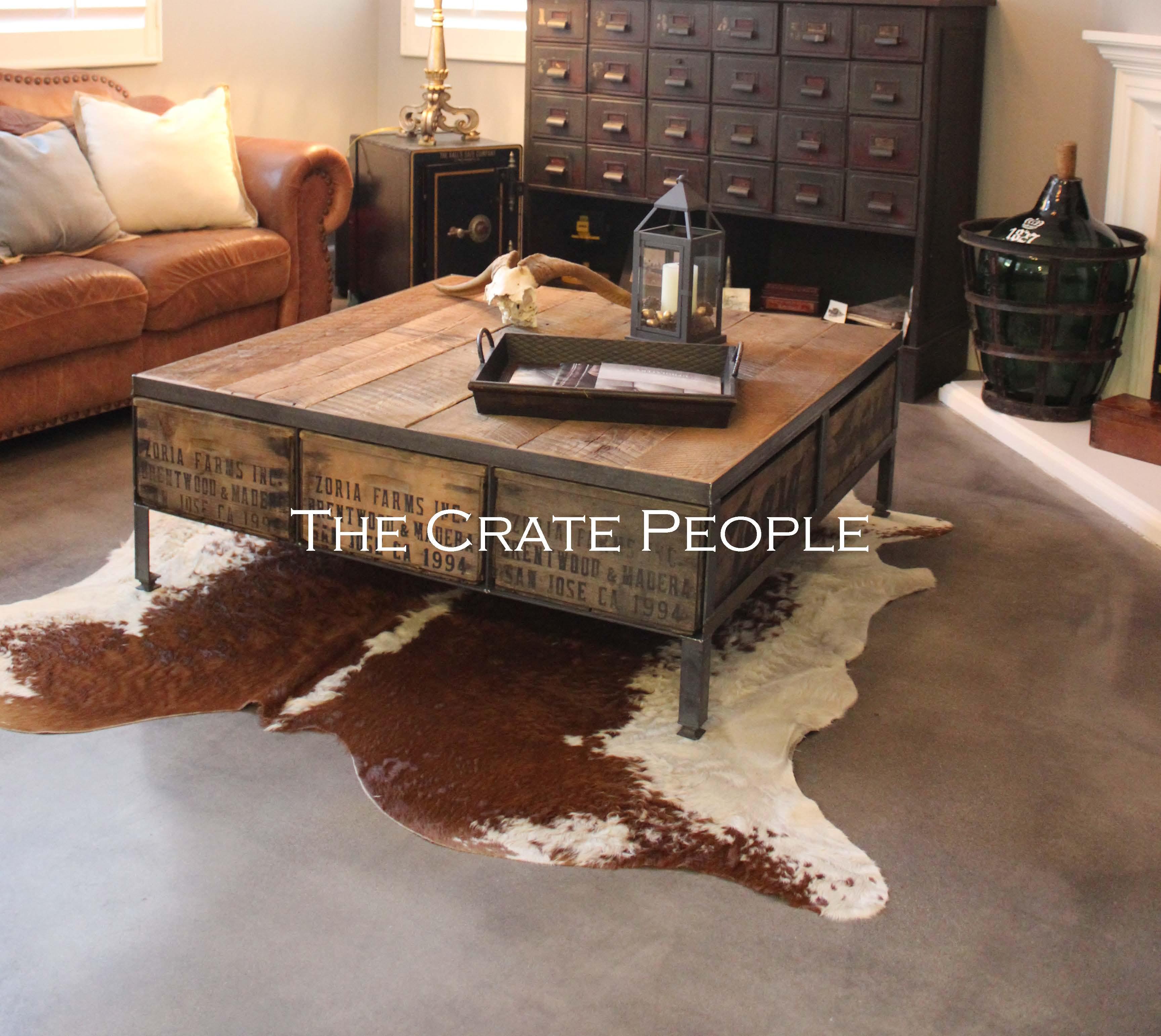 The 48″ Square ZORIA Farms Coffee Table