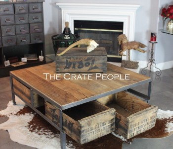 The 48u2033 Square ZORIA Farms Coffee Table