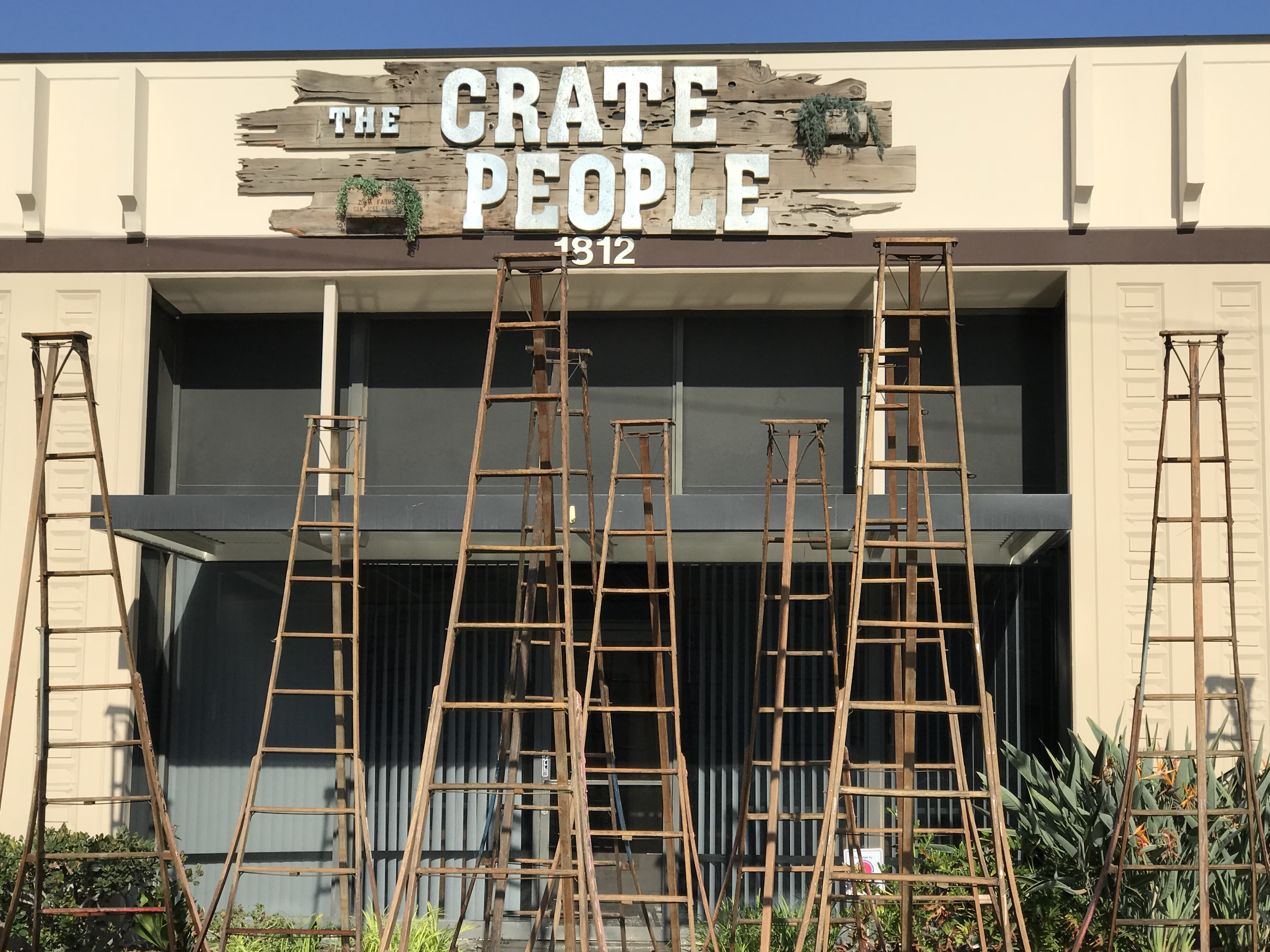 RENT Vintage Orchard Ladder | The Crate People