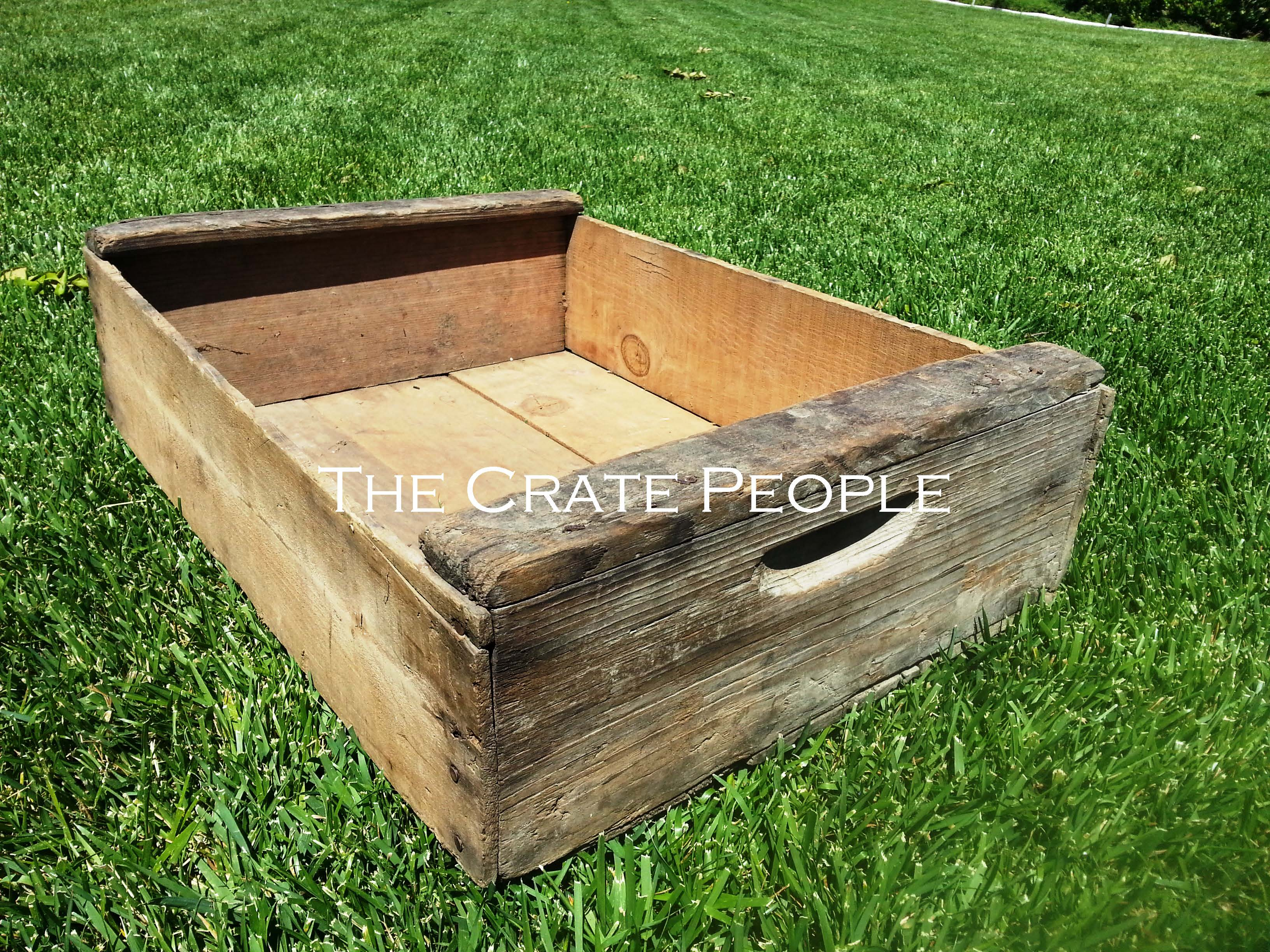 Crate Wide Coffee Table The Crate People