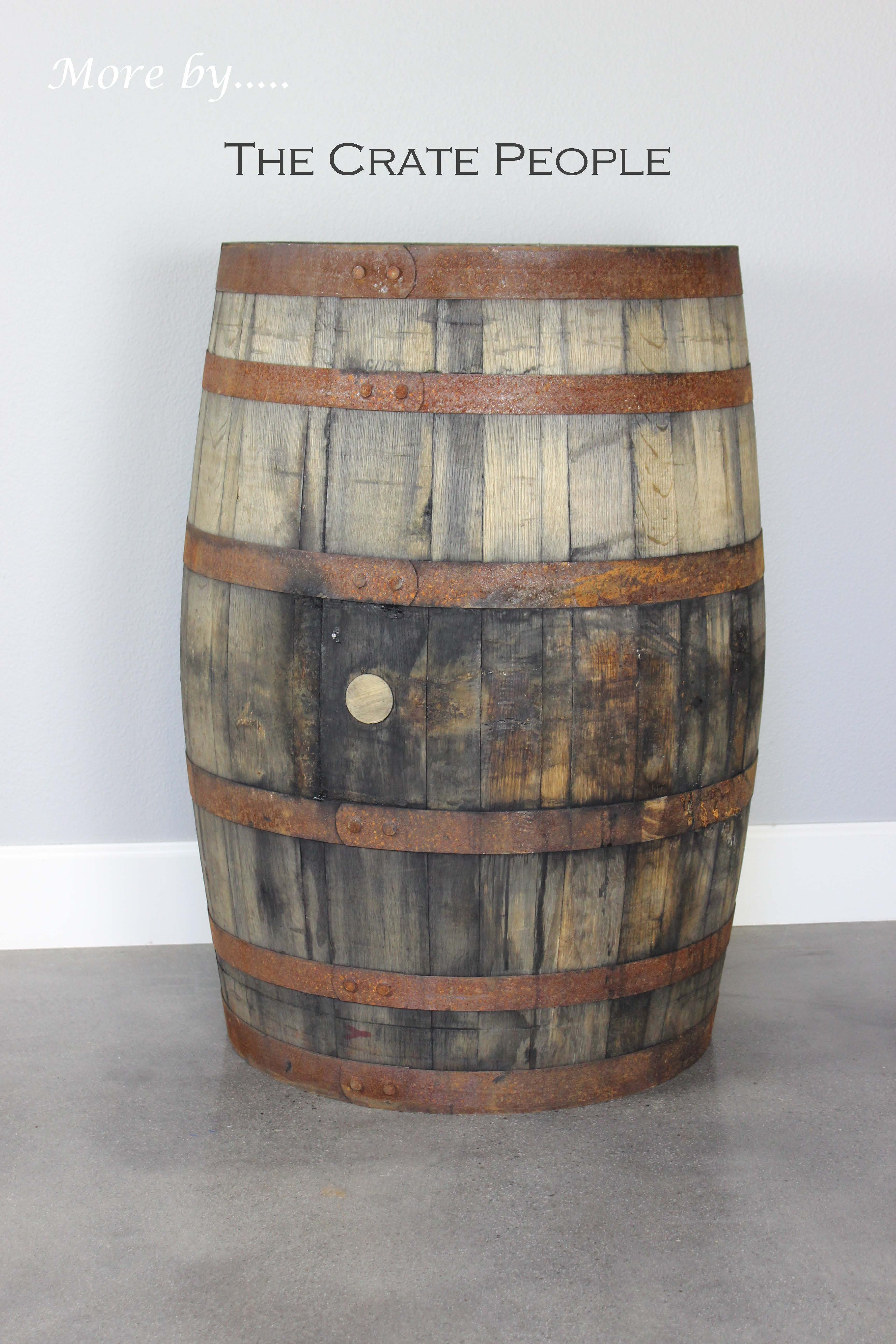 Rent Whiskey Barrels The Crate People