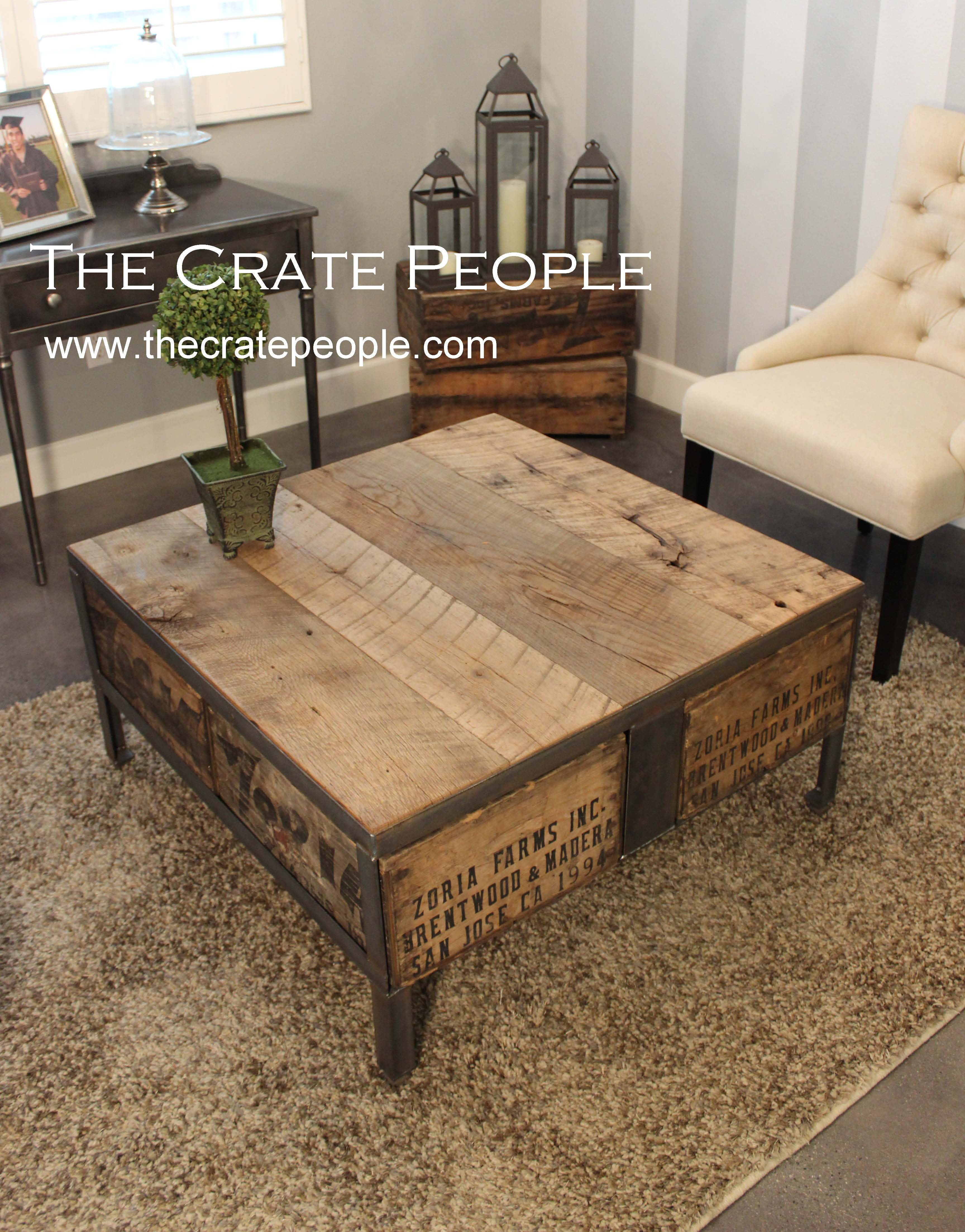 The 36″ Square ZORIA Farms Coffee Table