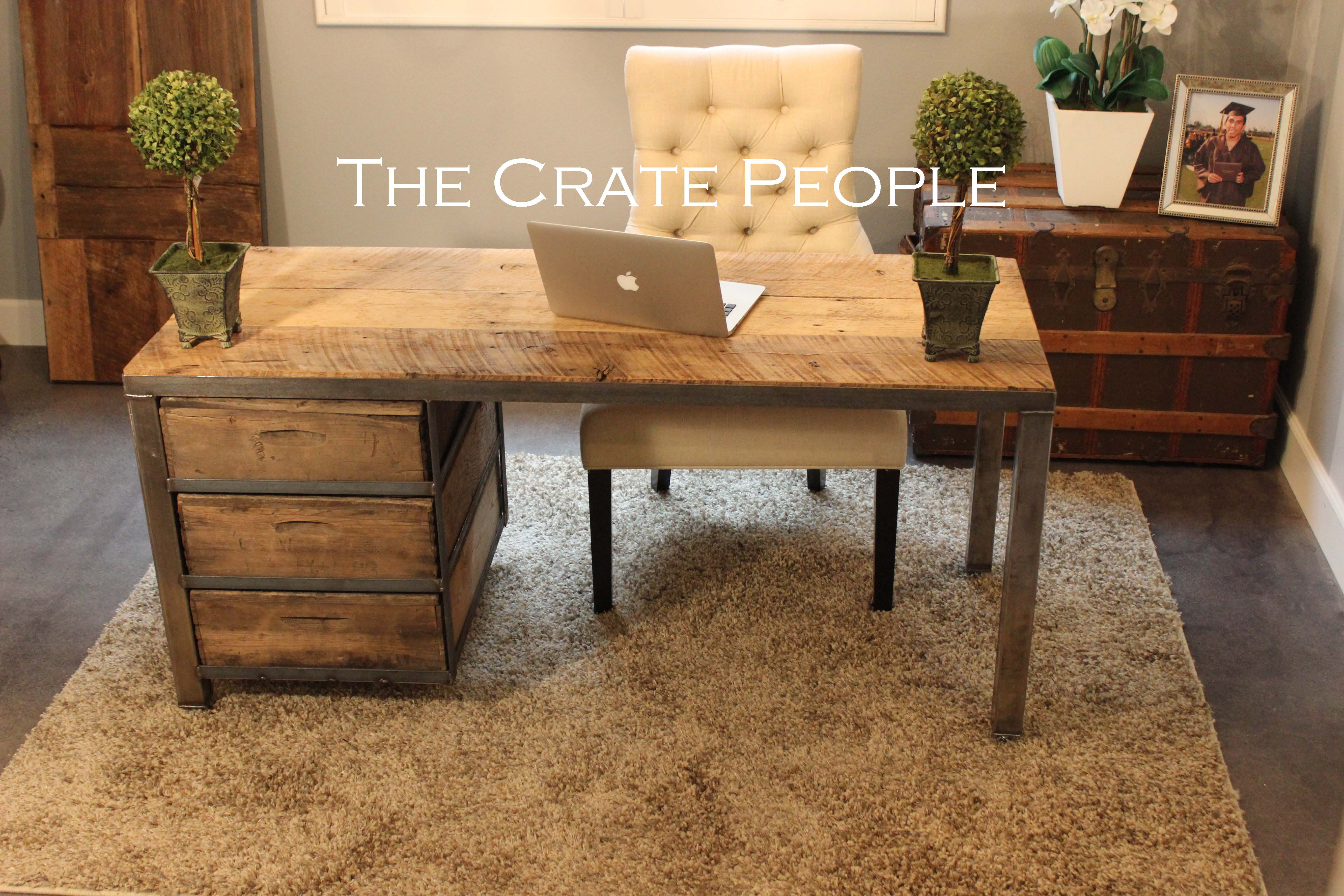 The Crate Desk The Crate People