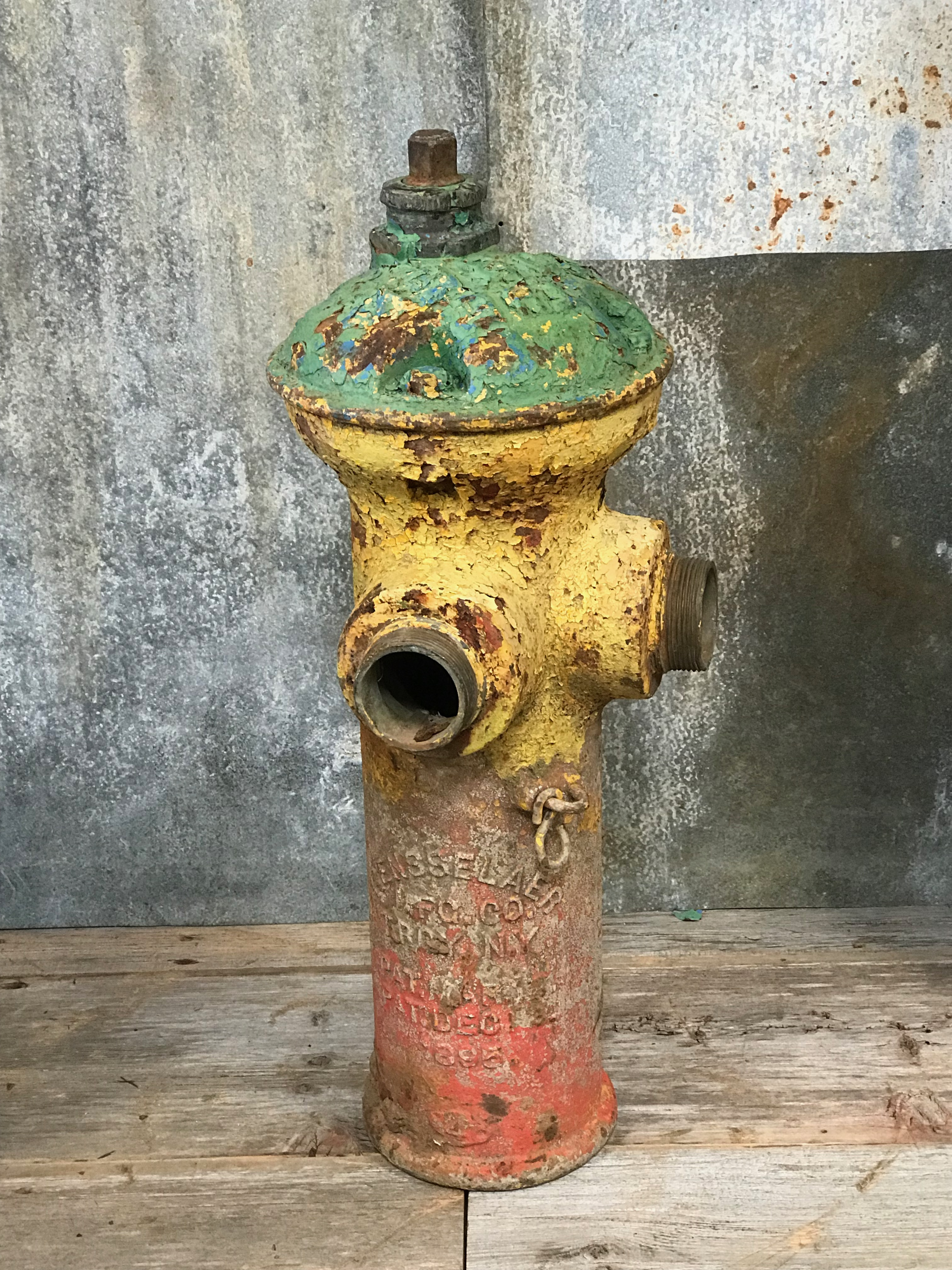 Vintage Fire Hydrant The Crate People