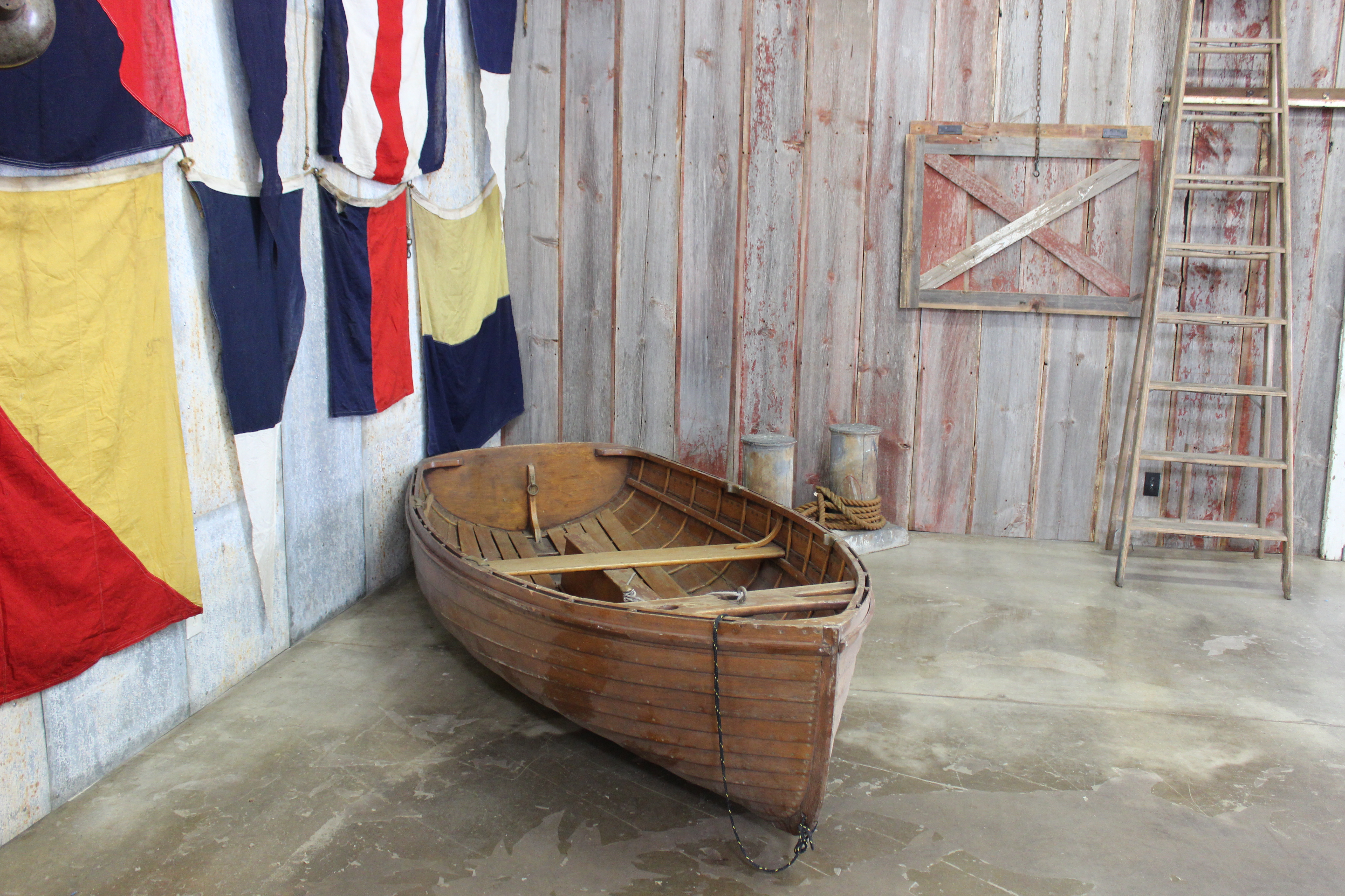 1914 Wood Sailboat The Crate People