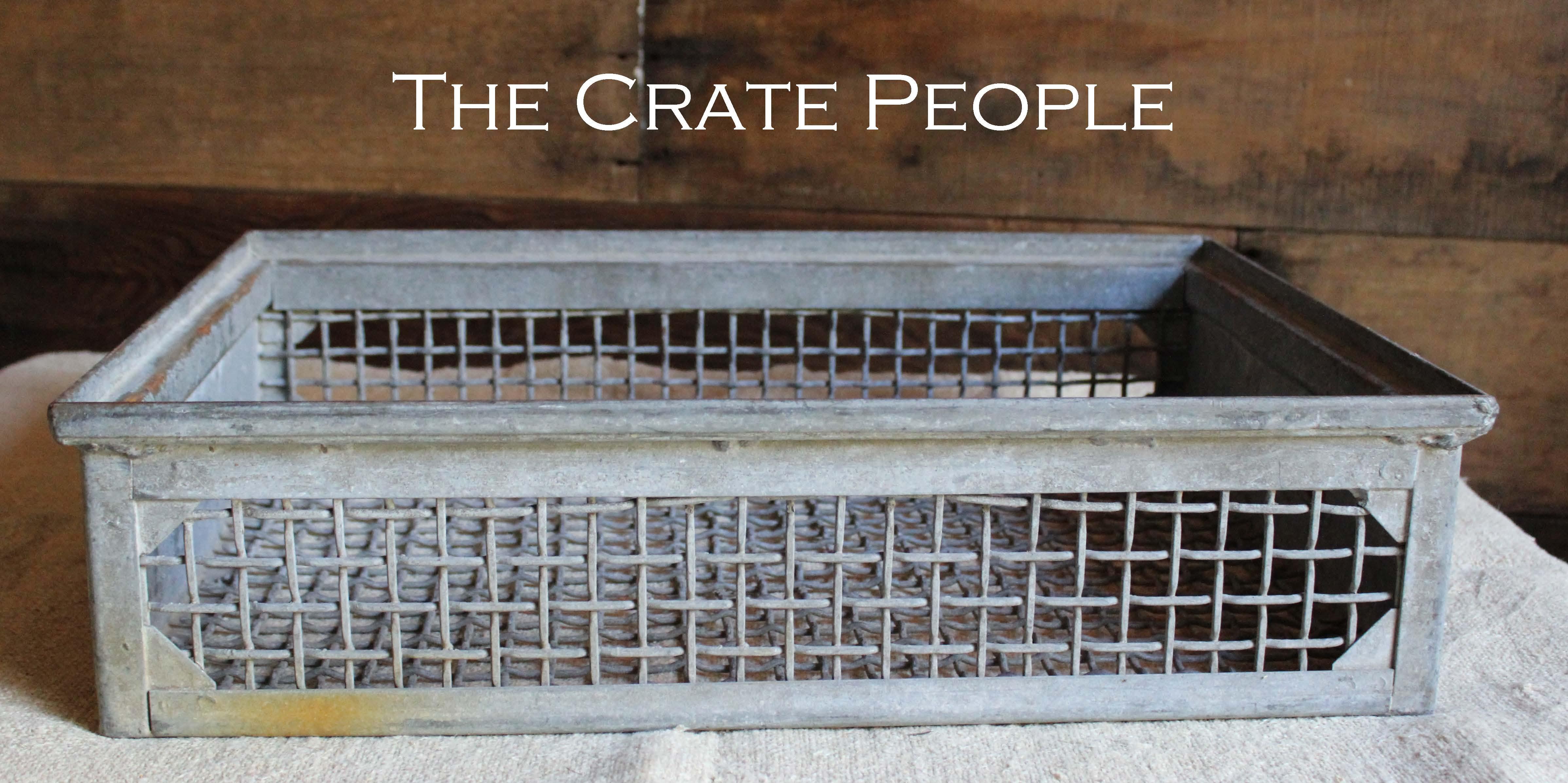 Vintage Heavy Industrial Basket
